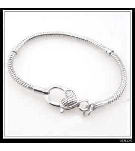 bracelet argenté HorseLover