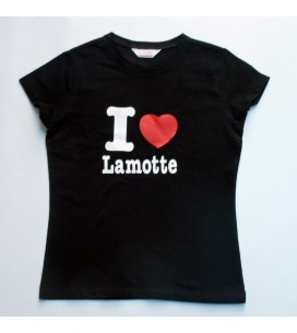 "T shirt ""I love Lamotte"""