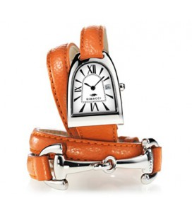 Montre NICY queen or, noir et blancet strass