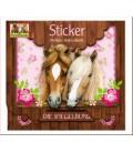 Stickers amis des chevaux